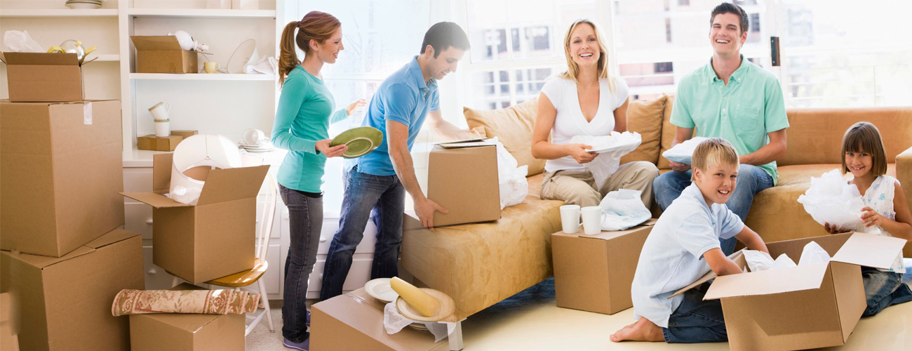 International and residential packing, moving